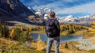 En randonnée dans les Rocheuses
