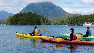 Voyage en famille dans l'Ouest du Canada, en kayac