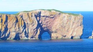 Le Rocher Percé en Gaspésie