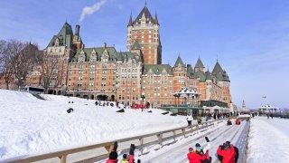Voyage au Québec en hiver