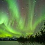 Album de photos de voyage au Canada, aurore boréale dans le Yukon